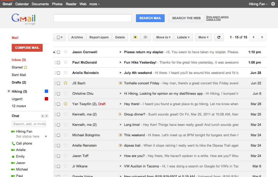 how to delete a lot of emails on gmail