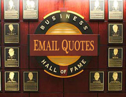 The email marketing quotes Hall of Fame