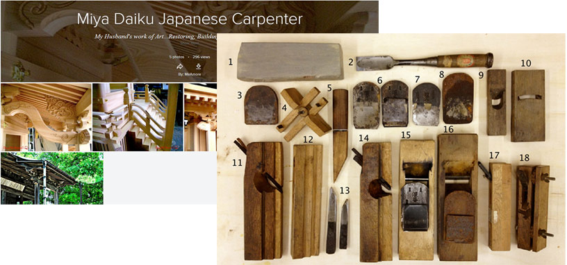 What are your proverbial Japanese Carpentry Tools?